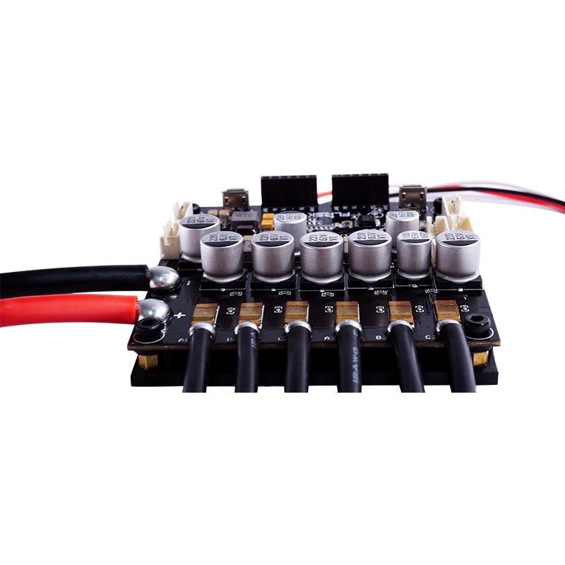 Double FSESC6.6 avec dissipateur thermique en aluminium Mini taille projet Open Source adapté avec le logiciel VESC6 contrôleur de vitesse électronique Flipsky - 3