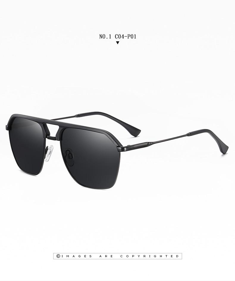 Classic Pilot Polarized Sunglasses Men Coating Mirror Sport Retro Sun Glasses Men Ride Travel Driving Fishing Eyewear Male UV400 (10)