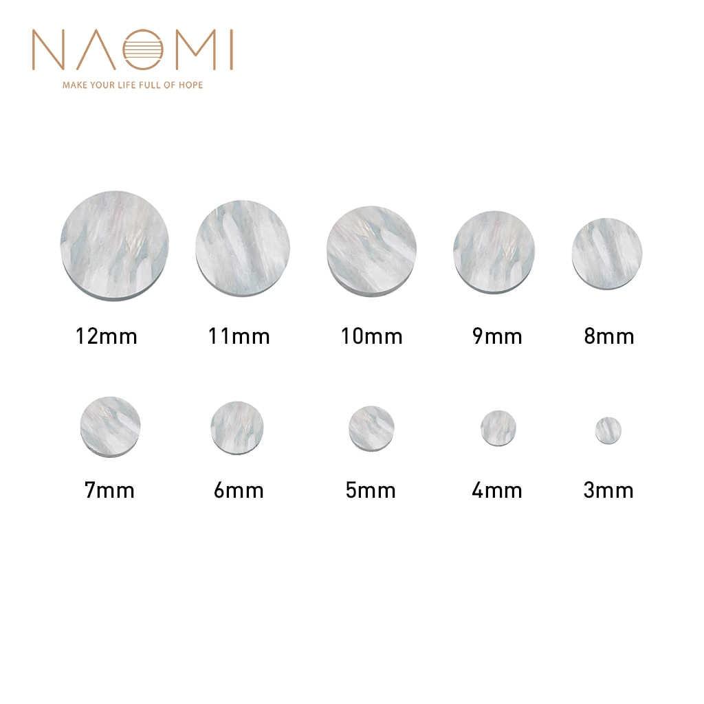 100pcs Guitar Fingerboard Abalone Dot Fret Marker Inlay Pure Shell 5mm Diameter