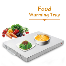 Warm Tray 400W Electric Food Heating Plate  Soup Warmer Constant Temperature Commercial Buffet Household Use Keep Dish Warming цена и фото