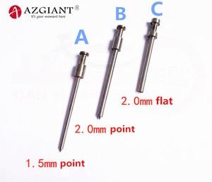 Image 1 - 1.5/2.0mm pino dedal para 2019 bafute ferramenta de fixação chave flip vice chave da aleta removedor de pino chave desmontar ferramenta de serralheiro