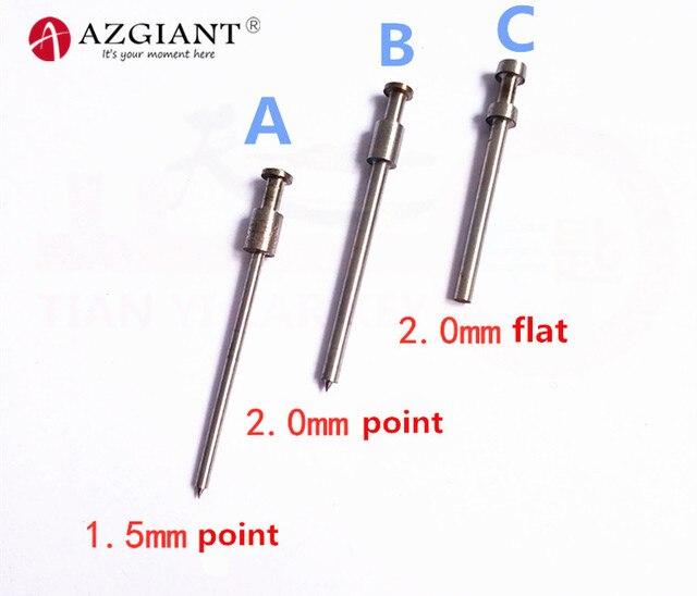 1.5/2.0mm thimble pin for 2019 Bafute key fixing tool flip key vice of Flip key Pin Remover dismantle locksmith tool