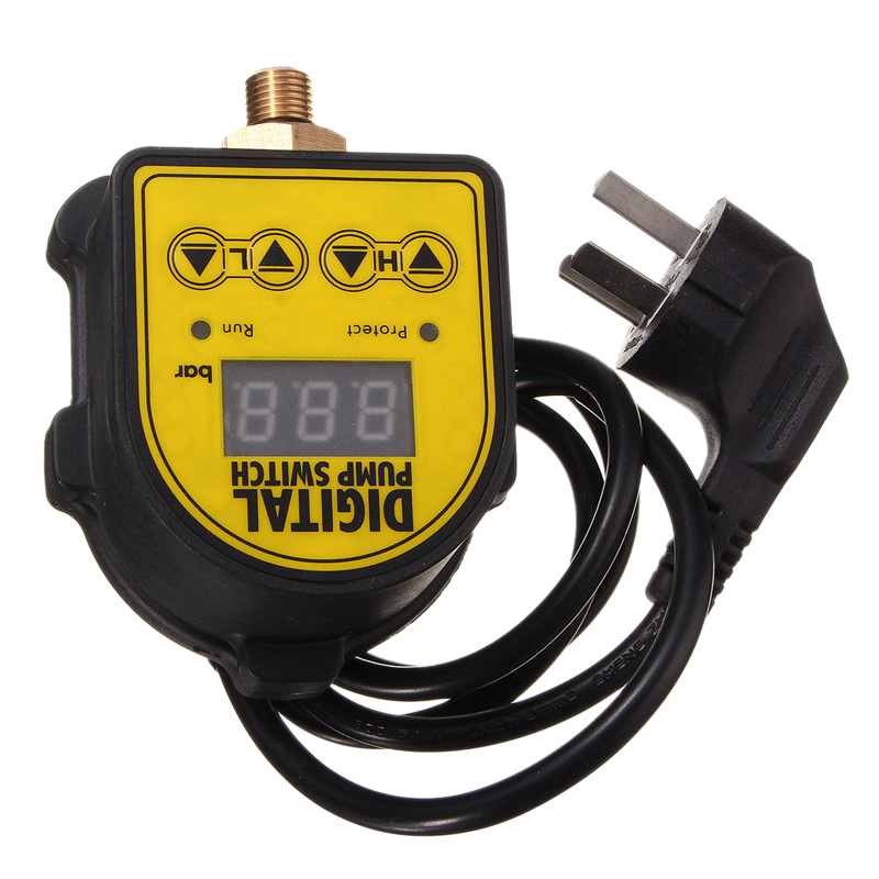 Digital Automatic Air Pump Water Oil Compressor Pressure Controller Switch for Water Pump On/Off|Display Screen| |  - title=
