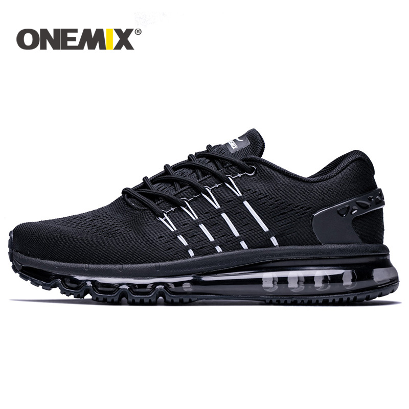 Onemix new men running shoes unique design breathable sport shoes women male athletic outdoor sneakers men