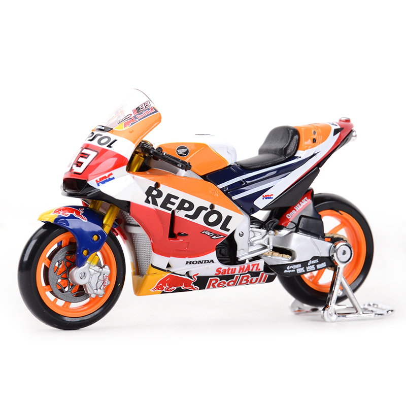 Maisto 1:18 2018 GP Racing Honda RC213V Repsol Honda Team 26# 93# Diecast Alloy Motorcycle Model Toy