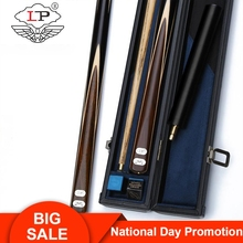 LP Billiar Fashion One Piece Snooker Cue 3/4 Split Cue10mm Tip Professional Ashwood Shaft Rare Wood Butt with Extension