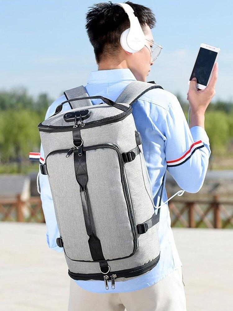 Backpack-Bags Sack Gym Travel Sac-De-Sport Fitness Gymtas-Bag Training Outdoor for Men