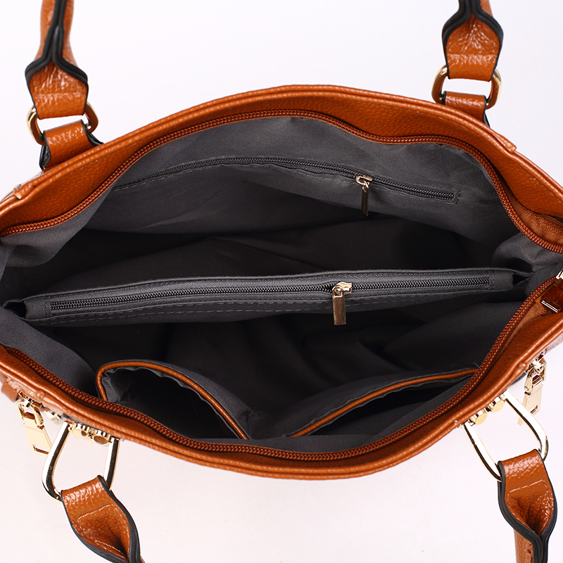 100 Genuine leather Women handbags 2019 New women 39 s cross border wash shoulder bag diagonal package in Top Handle Bags from Luggage amp Bags