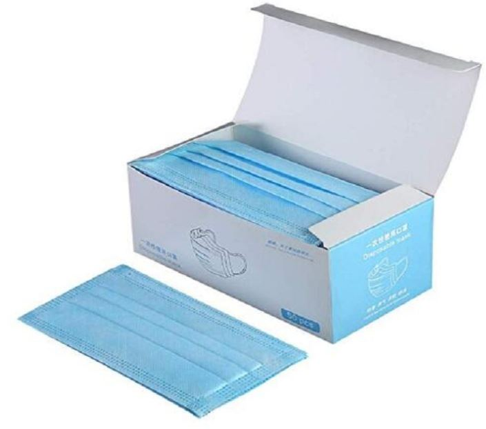 100pcs disposable surgical mask