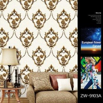 3dEuropean garden wallpaper bedroom warm wedding room living room sofa TV background wall flower elegant large mural wallpaper цена 2017