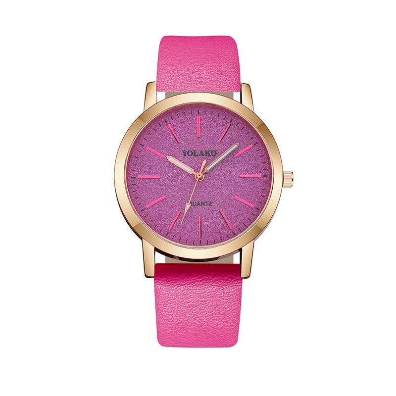 2020 Women Simple Watch Leather Band Casual Ladies Watches Fashion Minimalism Quartz Wristwatch Relogio Feminino Reloj Mujer