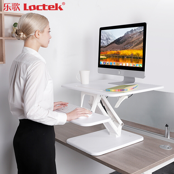 Loctek M3S Stand-up Computer Desk With Liftable Notebook Stand Alternate Computer Desk