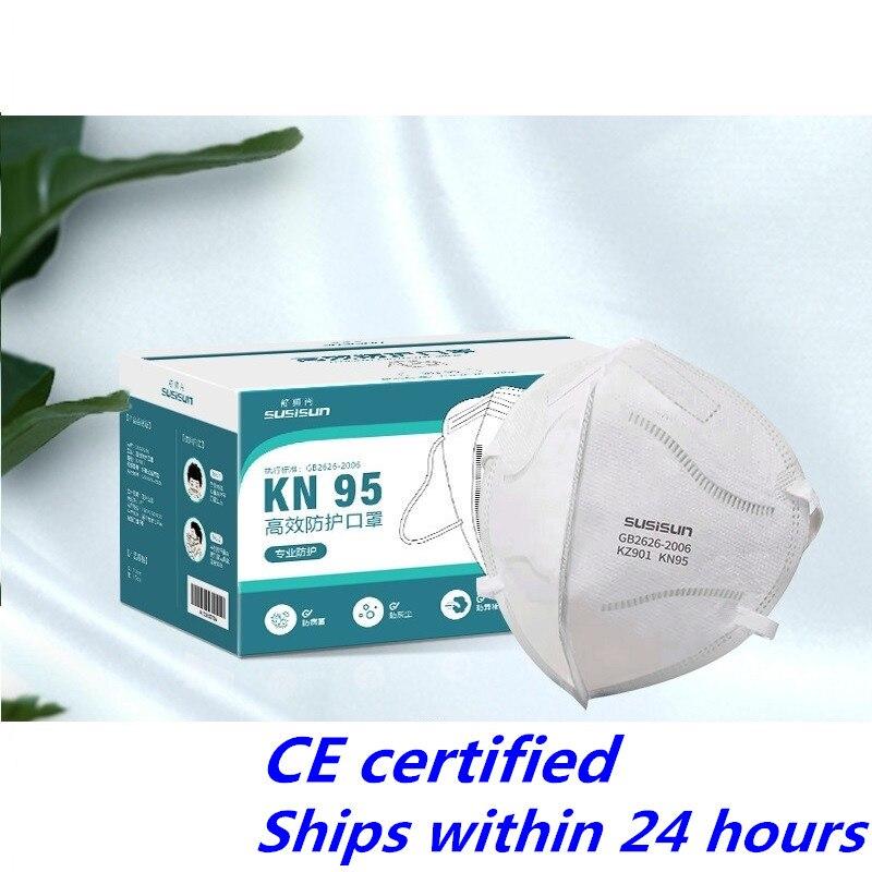 CE Certified KN95 Mask 5 Layers Protection EU-FFP2 Level Masks Filtration Masks 3D Mask Individual Package For Korea
