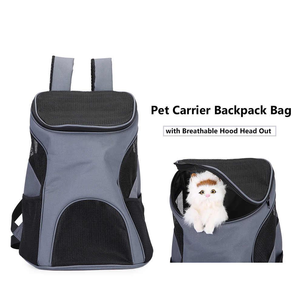Kat Carrier Schoudertas Pet Carrier Rugzak met Ademende Hood Head Out Bag Pet Travel Carrier voor Kleine Hond Kat huisdier Product