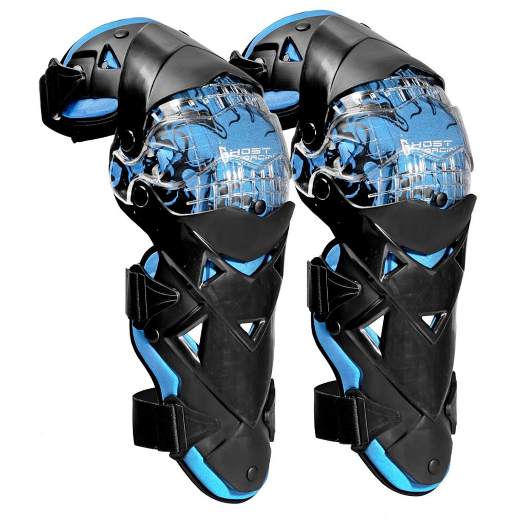 Motorcycle Knee Pads Protectors Guards Armor Protective Gear for motorcycle, riding, football, basketball, skating, skiing 45cm
