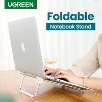 Ugreen Laptop Stand Höhe Einstellbar Notebook Stand für Macbook Pro Folding Halter Unterstützung 17 zoll Notebook Tragbaren Schreibtisch Stehen