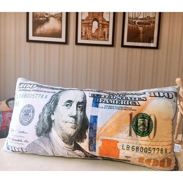 Money Plush Pillows