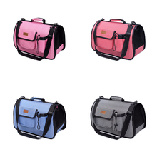 Durable and Portable Collapsible Pet Carrier Bag Use for Carrying Dogs or Cats Travel