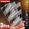 3 шт., Защитное стекло для экрана для iPhone 12 11 Pro Max X XS XR 5 5S SE защита для экрана из закаленного стекла для iPhone 7 Plus, 8, 6, 6S 12 мини-стекло для телефона
