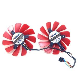 2 pièces/lLot nouveau 85MM FDC10U12S9-C 0.45AMP 4Pin, pour XFX RX 560D RX 570 RX 580 RX Vega carte graphique ventilateurs de refroidissement