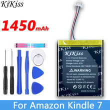 1450mAh Hohe Kapazität Batterie Für Amazon kindle 499 558 7th Generation 8th Generation SY69JL WP63GW 58-000151 MC-265360-03(China)