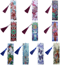 5D Diamond Bookmarks Painting Special-Shaped Butterfly Craft-Decoration Tassel Exquisite