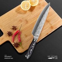 Damascus Steel Knife Kitchen Tools Gadgets Cuchillos de cocina Cooking Accessories Chef Meat Knife Dropship Suppliers брюки fleur de vie 24 2181 рост 146 бежевые