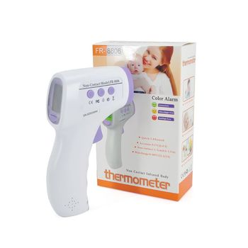 Temp Tester Forehead Infrared Thermometer Body Temperature Thermometer Non Contact Digital LCD Temperature Meter
