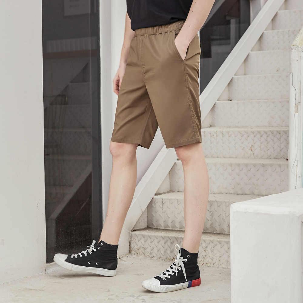 Metersbonwe 2020 yeni erkek yaz rahat şort moda gençlik sokak şort katı renk nefes öğrenci kısa pantolon