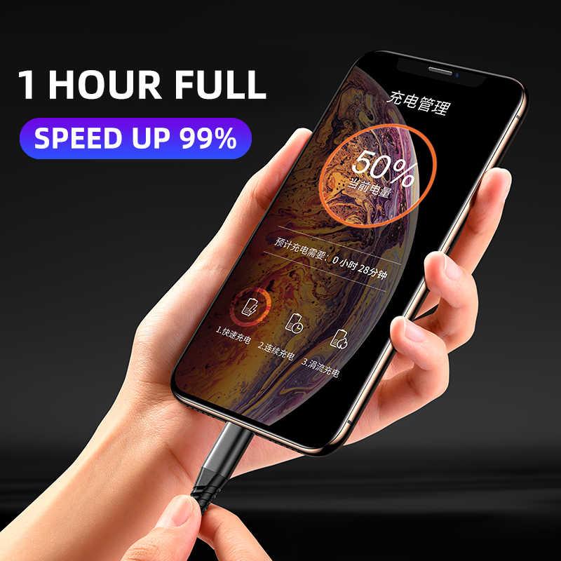 العظمية سريع شحن كابلات الهاتف المحمول شاحن الحبل dat كابل يو اس بي ل كابل iphone Xs ماكس Xr X 8 7 6 زائد 6s 5 s زائد ipad mini