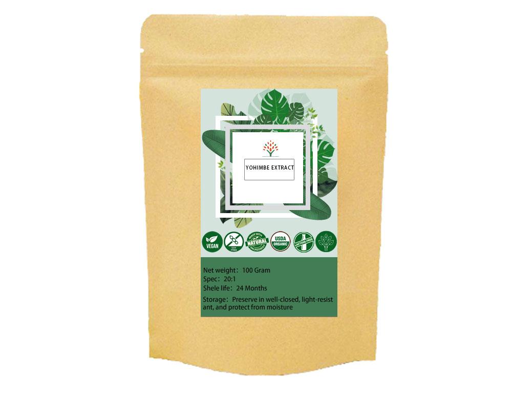 Экстракт йохимбина/органический экстракт коры йохимбина 20:1 гидрохлорид йохимбина