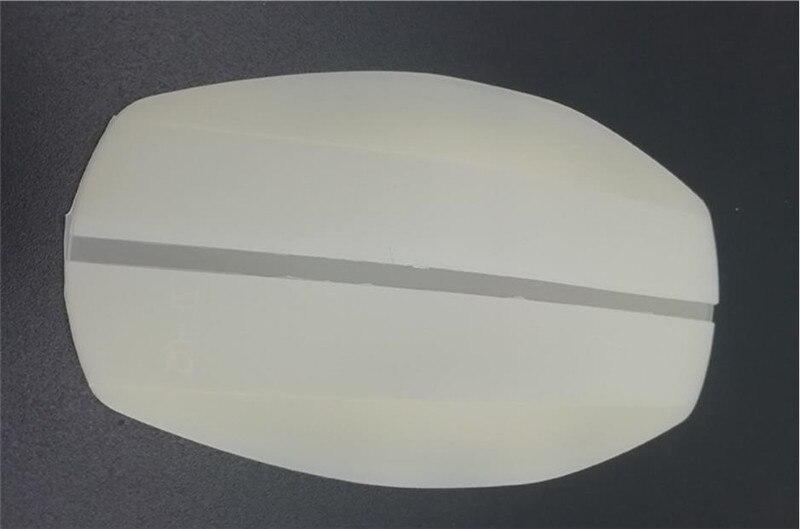 2 шт Наплечные подушечки Бюстгальтер ремень Защита силиконовый противоскользящая Подушка DIY для пошива швейных изделий ремесла аксессуары - Цвет: Milk White