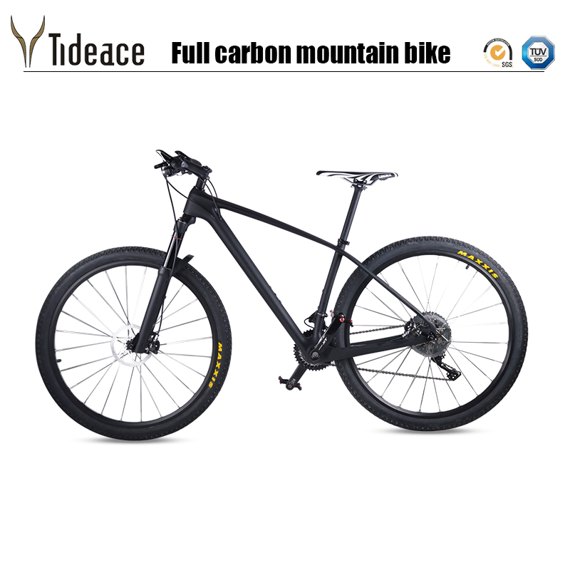 Carbon Fiber MTB Mountain Bike 29er light 33s 30s 22s 11s Speed 29 quot Complete mtb Bicycle XT M8000 29er full Mountain Bike in Bicycle from Sports amp Entertainment