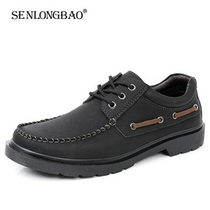 New Men Shoes Genuine Leather