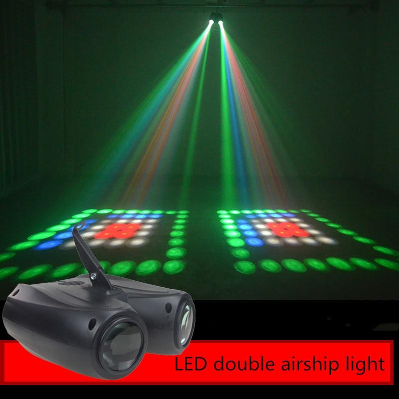Светодиодный сцсветильник прожектор с узором, 20 Вт, 64/128 шт.