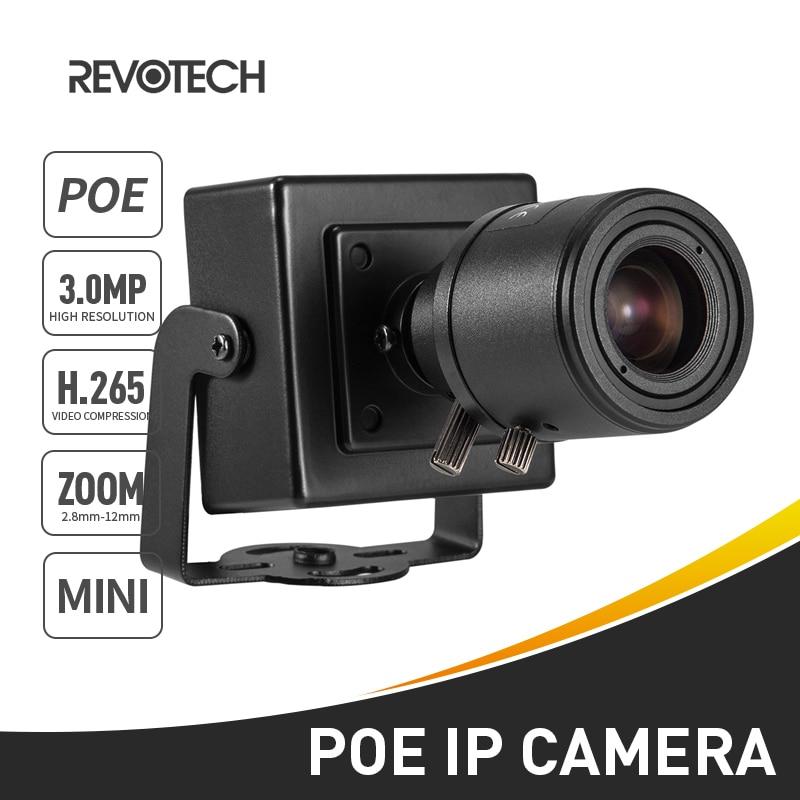 POE H.265 3MP 1296 P/1080 P 6-22mm kamera IP typ mini instrukcja Zoom Len bezpieczeństwa wewnętrznego P2P system cctv nadzoru wideo HD Cam