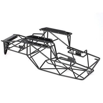 Juguetes RC rollo de Metal jaula chasis carrocería de coche de control remoto para 1/10 Axial de los espectros AX90018 90020 coche RC Rock DIY orugas Racer