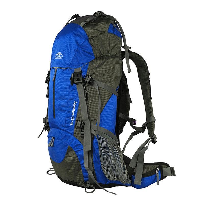 Sac à dos 40L 50L 60L sac de voyage extérieur sac d'alpinisme ultra léger étanche sac à dos d'alpinisme escalade randonnée c - 6