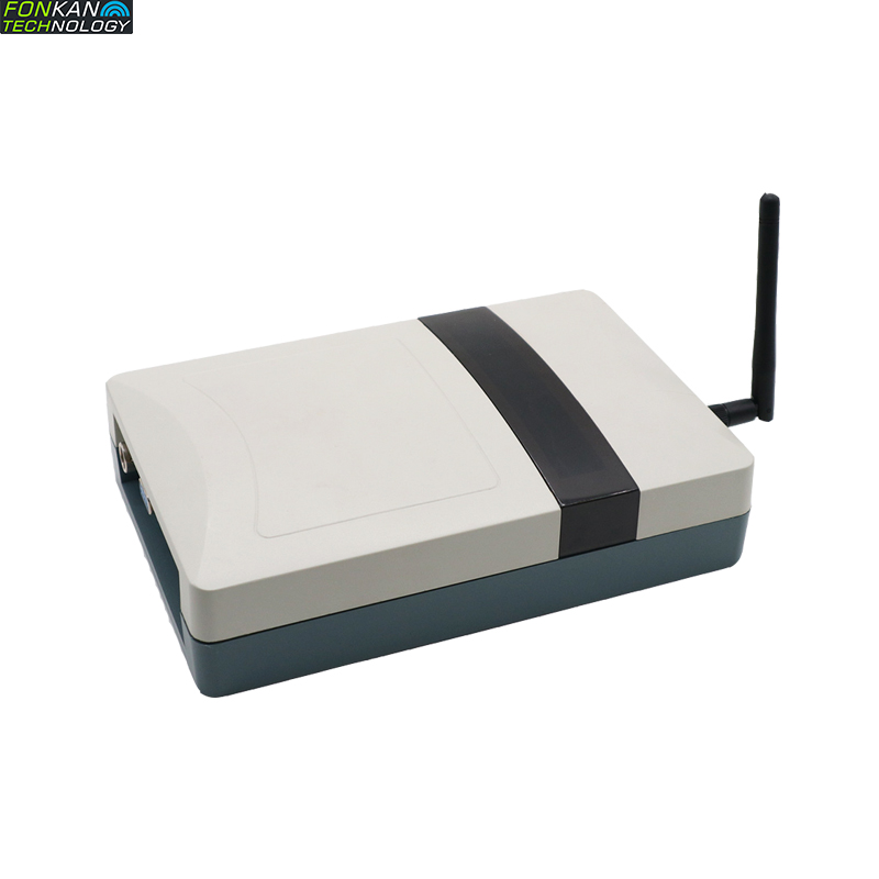 FONKAN UHF RFID Desktop Readder WIFI Network Port Automatic Card Reader Tag Write Card Serial Card
