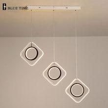 Светодиодный подвесной светильник в современном стиле для гостиной