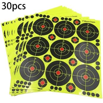 90Pcs 3 Inch Targets Reactive Splatter Paper Target for Archery Targeting for short / long distance targeting 1