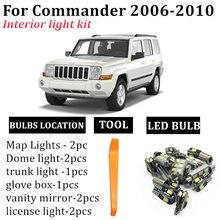 10x автомобильные Внутренние светодиодные лампы посылка комплект