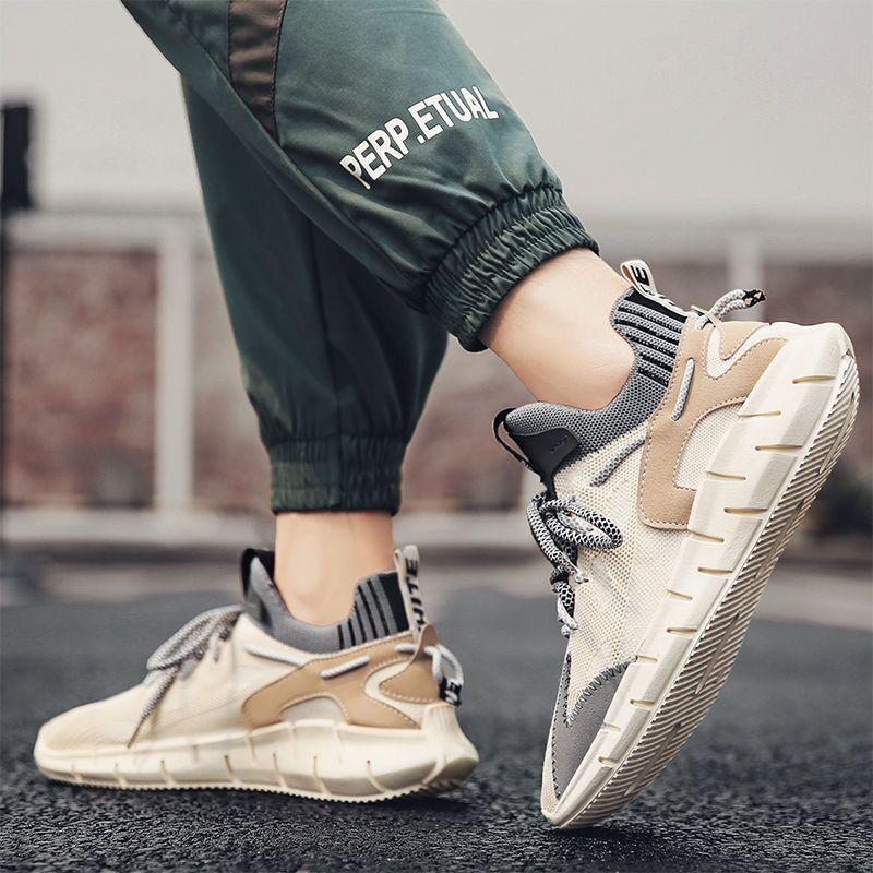 Men Running Shoes Comfortable Sport Shoes Men Mesh Lightweight Walking Shoes Men s Sneakers Breathable Zapatillas