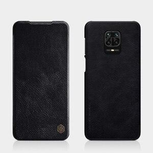 Image 3 - Xiaomi Redmi Note 9S 9 Pro Max Note 8 Pro 플립 케이스 Nillkin Qin 가죽 플립 커버 카드 포켓 케이스 Note9 Pro Phone Bags