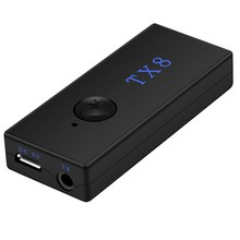PC HDMI TV MP3 Home Stereo DC 5V Adapter Portable Bluetooth Video Audio Transmitter Set(China)