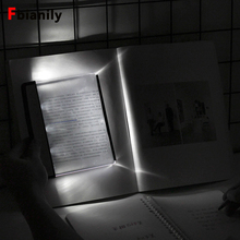 Desk-Lamp Book-Light Flat-Plate LED Reading Portable Eye-Protect Travel No Dormitory