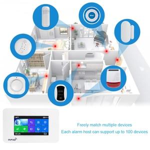 Image 4 - Awaywar نظام إنذار يدعم واي فاي و GSM لحماية المنزل الذكي لص متوافق مع Tuya IP Camrea