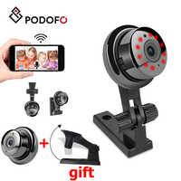 PODOFO Wasserdichte MINI Kamera WiFi HD 1080P Audio Home Security Netzwerk Kamera Außen kamera wifi