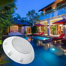 AC12V 15W  LED White RGB Underwater Light IP68 Waterproof RGB Swimming Pool Lighting With Remote Controller