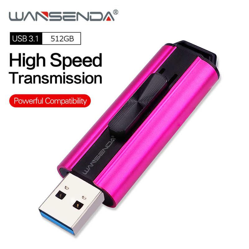 Wansenda usb フラッシュドライブ高速 usb 3.0/3.1 ペンドライブ 1 テラバイト 512 ギガバイト 256 ギガバイト 128 ギガバイト 64 ギガバイト 32 ギガバイト 16 ギガバイト pendrives 創造メモリスティック